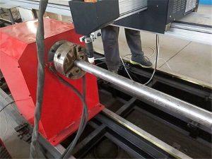 2018 nový přenosný typ plazmové řezačky kovových trubek, cnc kovové trubkové řezací stroje
