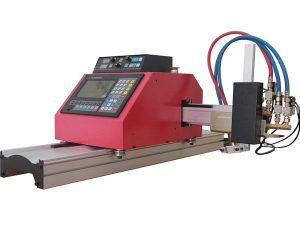 2017 horký prodej přenosné portálové cnc plazmové řezací stroj s THC pro ocel