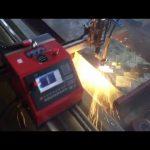 2017 vysoce kvalitní certifikace CE přenosný kovový řezací stroj s nízkým obsahem cnc plazmy