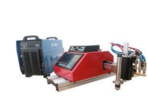automatický přenosný cnc plazmový řezací stroj ocel hliník nerez