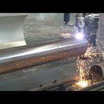 CNC 3-osá plazmová plamenová trubka rotační trubka ocel řezací stroj
