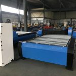 Čína 1325 1530 levné hořák výška regulátor plazmy huayuan kovová ocel řezání cnc plazmové řezací stroj
