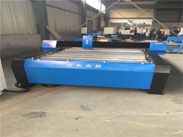 Čína 1325 Plazmové řezačky kovů CNC plazmové řezací stroje