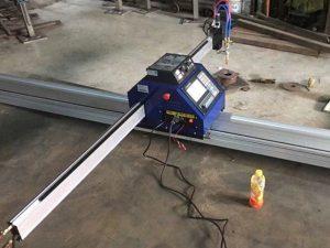 Čína levné 1500 * 2500 mm kovové přenosné cnc plazmové řezací stroje ce