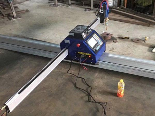 China Cheap 15002500mm Metal Portable CNC plasma cutting machine with CE