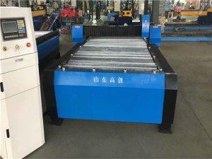 Čína Huayuan 100A plazmové řezací CNC stroj 10mm plech