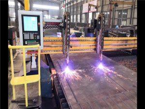 Dvoumotorový portálový plazmový řezací stroj H Svazková výrobní linka Hypertherm CNC systém