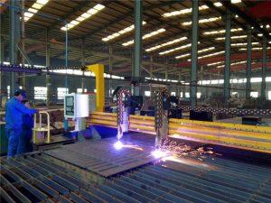 Portálový CNC plazmový řezací stroj a stroj na řezání plamenem pro ocelové plechy