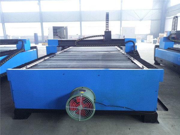 Robustní plazmový řezací stroj s kovovou deskou portálového cnc