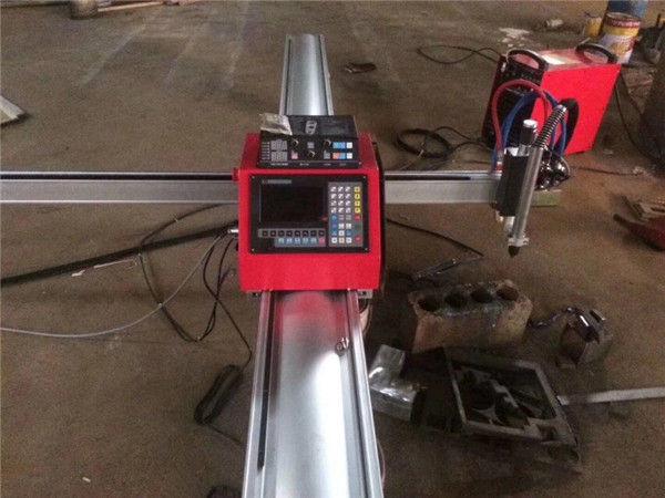 Vysoce kvalitní přenosný cnc plazmový řezací stroj cnc plazmový řezač pro nerezovou ocel a plech