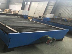 Hot prodej plechu řezání nerezové uhlíkové oceli 100 A cnc plazmové řezačky 120 plazmové řezací stroje