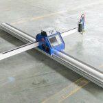 nízkonákladový malý ocelový plech cnc plazmový plamen řezací stroj