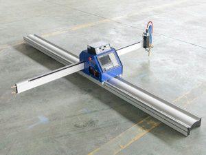Nízkorozpočtový malý ocelový plech CNC plazmový řezací stroj