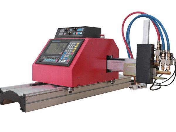 Multifunkční čtyřhranný ocelový trubkový profil CNC plazmový řezací stroj s vysokou kvalitou