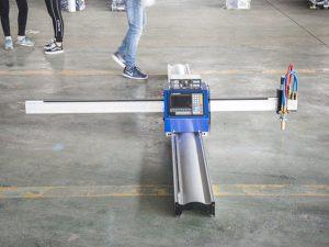 Nová technologie přenosný typ cnc plazmové řezací stroje cena malé firmy výrobní stroje