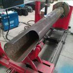 rotační hřídel cnc kruhová trubka nízkonákladový cnc plazmový řezací stroj