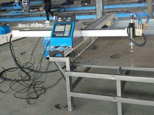 Malý řezací stroj přenosného cnc plazmového plynového řezacího stroje