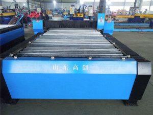 Malý stolní praktický cnc plazmový řezací kovový stroj