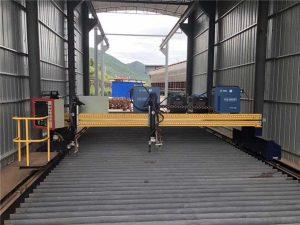 řezací stroj na plazmové plechy o velikosti 1500x3000mm z ocelového plechu