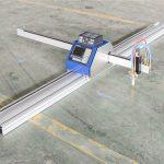 řezání oceli / kovu nízkonákladový cnc plazmový řezací stroj 1530 jinan vyvážený po celém světě cnc