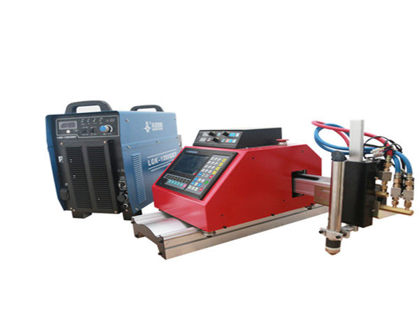 vysoce kvalitní přenosný malý CNC plazmový řezací stroj na galvanizovaný ocelový plech