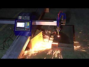 levný mini přenosný cnc trubkový plazmový řezací stroj na řezání kovů z nerezové oceli