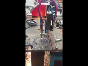přenosný cnc plamen řezačka mini cnc plazmové řezací stroj cnc řezací stroj
