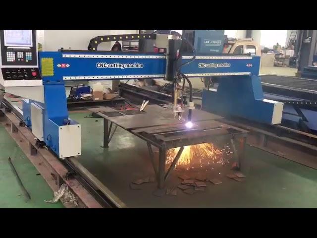 přenosný cnc portálový jeřáb plazma plamen řezací stroj plazma řezačka