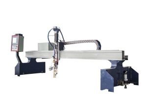 malý portálový cnc pantografový kovový řezací stroj / cnc plazmový řezač